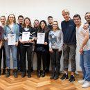 Die Preisträger des Meduc Award 2018. Quelle: media akademie