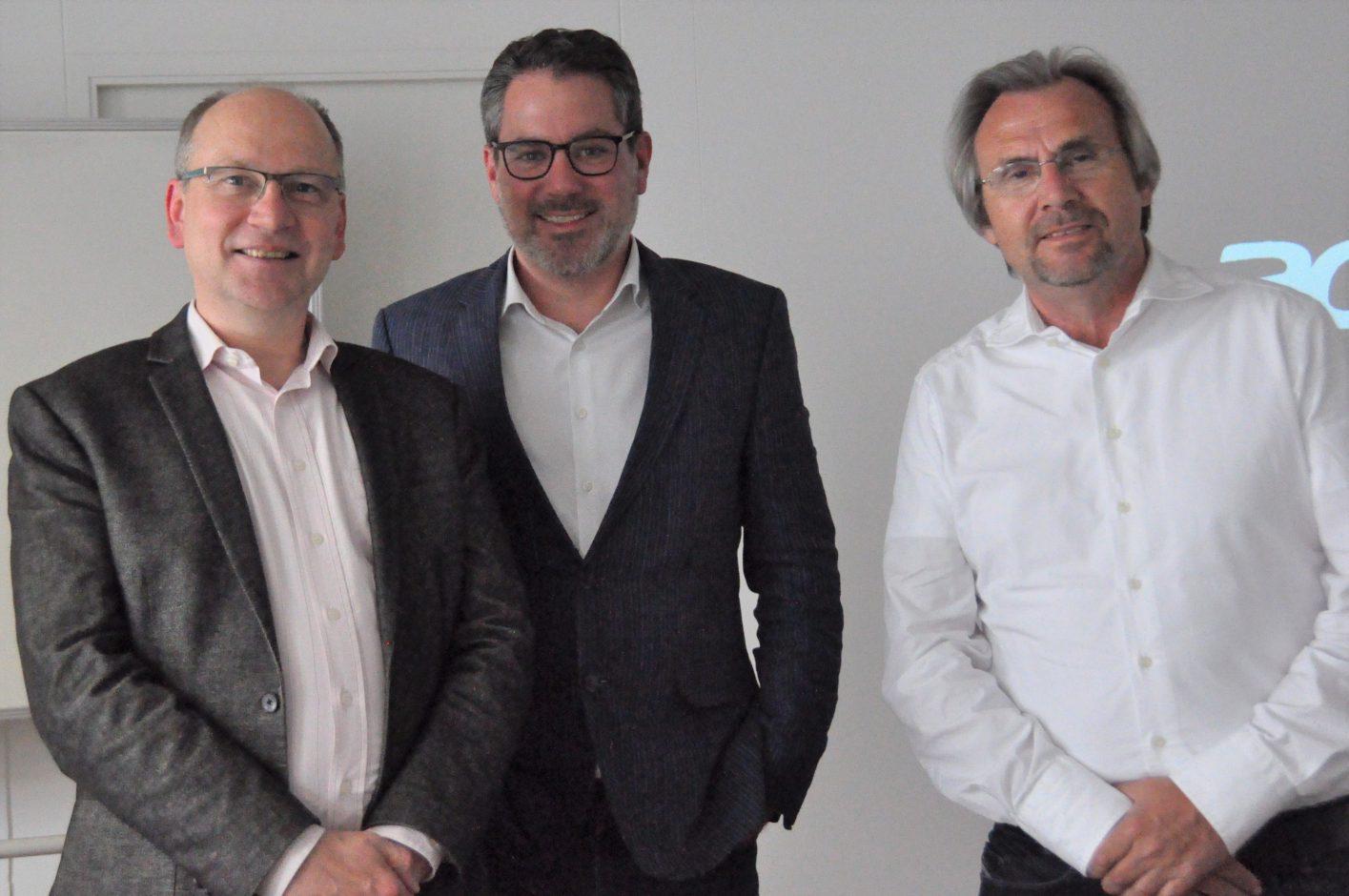 Andreas Quest, Oliver Hahr und Armin Vetter: Erfolgreiche PR-Konzeption nutzt kontinuierliches Communication Controlling Quelle: Akademie der media.