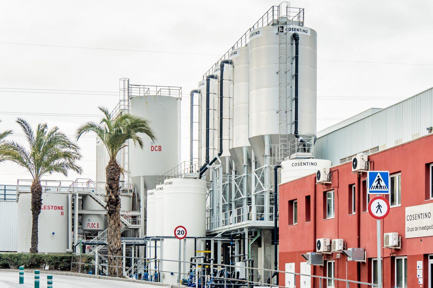 Der Cosentino Industrial Park in Cantoria, Südspanien. Quelle: Cosentino