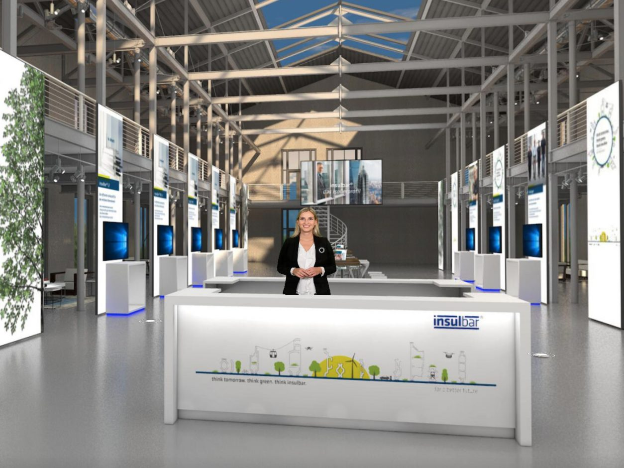 During the coronavirus crisis, proper dialogue with customers in an atmosphere of mutual trust is still very important to Ensinger – the plastics specialist is inviting customers to its digital showroom. Pictures courtesy of: Ensinger GmbH
