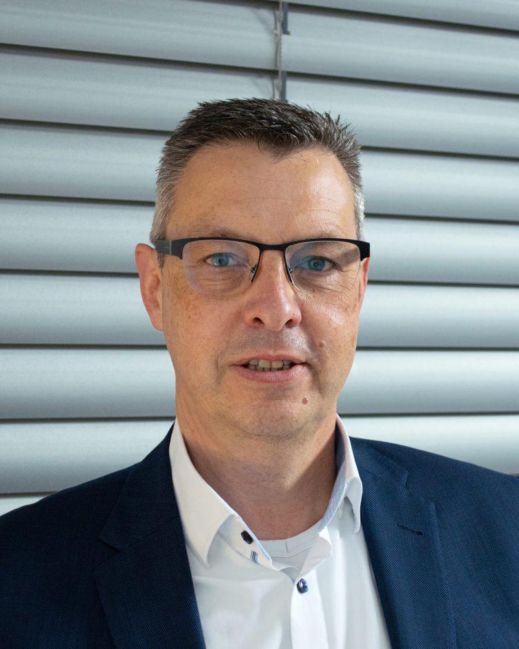 Martin Schäfer ist Segmentleiter Mechanische Antriebe bei GEIGER und steuert beim Spezialisten für Sonnenschutz-Antriebe den Vertrieb in Deutschland. Quelle: GEIGER